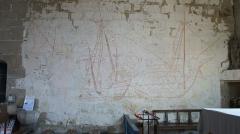 Chapelle Saint-Colomban - English: Inside of the chapel Saint-Colomban in Carnac