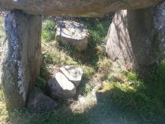 Dolmen dit Roch-Vihan - English: Un dolmen près de Carnac