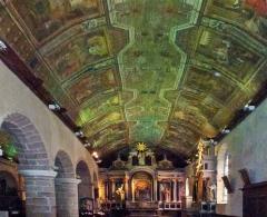 Eglise Saint-Cornély - English: Nef latérale droite dans l' Eglise Saint Cornely à Carnac
