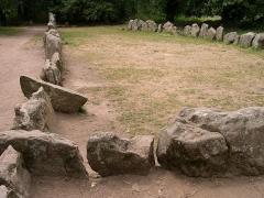 Tumulus dit du Manio, quadrilatère et menhir de Manio - Français:   Quadrilatère de Manio - Carnac - Morbihan - France - Mérimée PA00091138