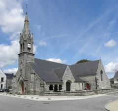 Eglise Saint-Jean-Baptiste - Français:   Église Saint-Jean-Baptiste de Le Croisty (56).
