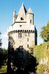 Ancienne forteresse ou ancien château de Largouët - Château de Largouët, Elven, Vannetais oriental, Bretagne