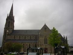 Eglise Saint-Alban - Français:   Église Saint-Alban d\'Elven (Morbihan, France)