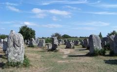 Alignements de Kerzérho - Français:   Alignements de Kerzérho, Erdeven, Pays de Vannes, Bretagne