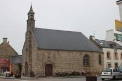 Chapelle de Langroës, dite aussi chapelle de la Vraie Croix - Français:   Chapelle de Lann Groëz, Fr-56-Erdeven.