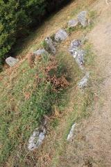 Dolmens de Mané-Bras dits Lann-Mané-Bras - Français:   Dolmen de Lann-Mané-Bras: vue du groupe nord