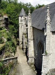 Chapelle Sainte-Barbe et maison du garde - Le Faouët (Bretagne, Morbihan) Chapelle Sainte-Barbe
