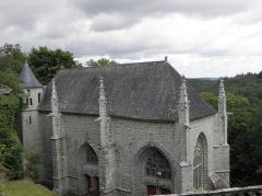 Chapelle Sainte-Barbe et maison du garde - Chapelle Sainte-Barbe du Faouët (56).