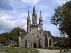 Chapelle Saint-Fiacre - Façade et entrée principale