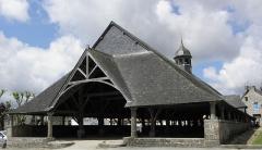Vieilles halles - Français:   Halles du Faouët (56).