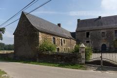 Manoir de la Cour - Français:   Manoir de la Cour à Gourhel.