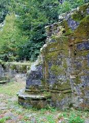 Chapelle Notre-Dame de Burgo - Chapelle Notre-Dame du Burgo: reste de pilier de la tour effondrée en 1931