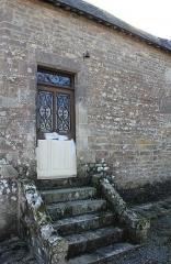Chapelle Saint-Mélèc de Tréganteur - Chapelle de Trégranteur: entrée sacristie
