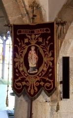 Chapelle Saint-Mélèc de Tréganteur - Chapelle de Trégranteur: bannière Saint-Mélec