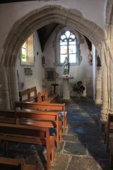 Chapelle Saint-Mélèc de Tréganteur - Chapelle de Trégranteur: volume nord