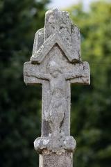 Croix de la Villemeno - Français:  Croix de la Ville Méno à Guillac (Morbihan, France).