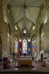 Eglise Notre-Dame-de-Paradis et ses abords - Français:  Chœur et abside de la nef de la basilique Notre-Dame-de-Paradis d'Hennebont (France)