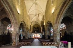 Eglise Notre-Dame-de-Paradis et ses abords - Français:  Vue depuis le chœur de la nef de la basilique Notre-Dame-de-Paradis d'Hennebont (France)