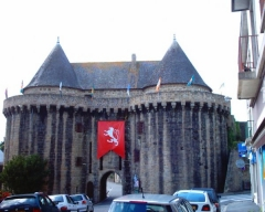 Remparts - Français:   Porte Broërec, appelée aussi Porte Prison