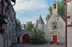 Château - Chateau de Josselin, Morbihan, France