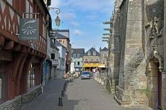 Eglise Notre-Dame-du-Roncier - Basilique Notre-Dame-du-Roncier a-Josselin, Morbihan, France