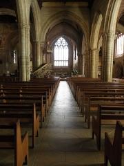 Eglise Notre-Dame-du-Roncier - Basilique Notre-Dame-du-Roncier à Josselin (56).Intérieur.
