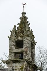 Chapelle Notre-Dame de la Clarté de Locadour - Français:  Clocher de la chapelle Notre-Dame-de-la-Clarté à Kervignac (France)