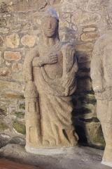 Eglise Saint-Théleau - Église Saint-Théleau (Landaul): Statue de Sainte-Barbe