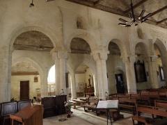Eglise Saint-Pierre et Saint-Paul - Élévation sud de la nef de l'église Saint-Pierre-et-Saint-Paul de Langonnet (56).