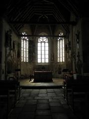 Eglise de la Trinité - Français:   Chœur de l\'église de La Trinité-Langonnet (59).
