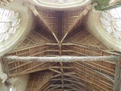Eglise de la Trinité - Français:   Voûtes de l\'abside de l\'église de La Trinité-Langonnet (56).