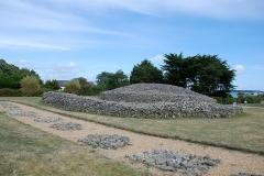 Dolmen dit Table-des-Marchands -  tumulus túmulo cairn de  Er Grah