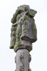 Cimetière - Français:   Croix de cimetière de Loyat.