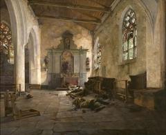 Ruines de la chapelle de la Madeleine -