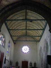 Eglise Saint-Gilles - Église Saint-Gilles de Malestroit (Morbihan, France), nef méridionale