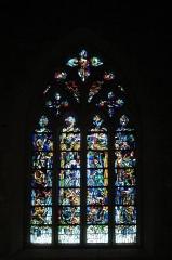 Eglise Notre-Dame-de-Joie - vitrail de l'église Notre-Dame-de-Joie (Merlevenez)