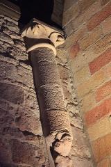 Eglise Notre-Dame-de-Joie - Pilastre de l'église Notre-Dame-de-Joie (Merlevenez)