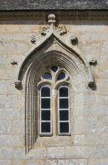 Chapelle Notre-Dame-de-Légevin - Chapelle Notre-Dame-de-Légevin, fenêtre sud