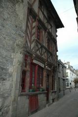 Maison dite des Marmousets - Français:   Maison des Marmousets, 7 rue Beaumanoir (Classé, 1927)