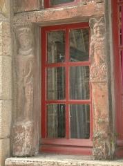 Maison dite des Marmousets - Français:   Maison des Marmousets, 7 rue Beaumanoir (Classé, 1927) - détail des «marmousets»