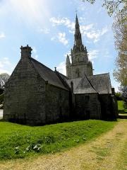 Chapelle de Saint-Nicodème - Chapelle Saint-Nicodème, commune de Pluméliau (56).
