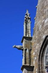 Chapelle de la Trinité - Chapelle de la Trinité (Plumergat): pinacle sud-sud-est