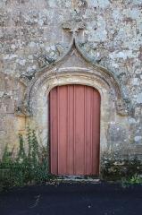 Chapelle de la Trinité - Chapelle de la Trinité (Plumergat): porte nord