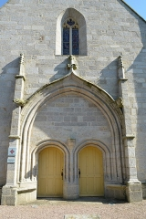 Chapelle Saint-Michel - Français:   Chapelle Saint-Michel 16e s.- Cimetière de Questembert (Morbihan)