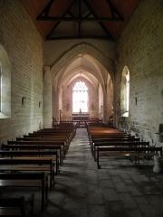 Chapelle de Locmaria - Français:   Chapelle de Locmaria en Quistinic (56). Intérieur.