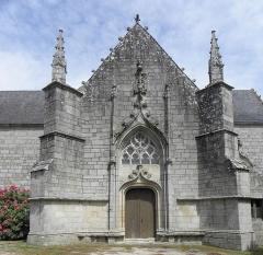 Chapelle de Locmaria - Français:   Chapelle de Locmaria en Quistinic (56). Croisillon sud.