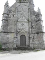 Chapelle de Locmaria - Français:   Chapelle de Locmaria en Quistinic (56). Façade occidentale.
