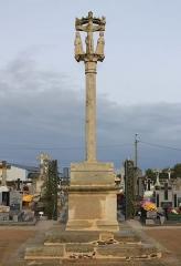 Cimetière - Français:   Croix de cimetière (Réguiny)