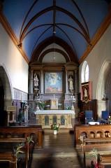 Eglise Saint-Léry - English: Choir of Saint-Léry church