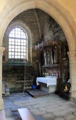 Chapelle de Saint-Gobrien - Chapelle Saint-Gobrien de Saint-Servant: vue du volume nord